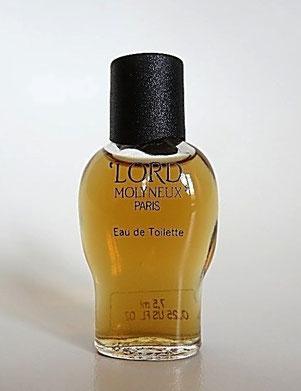 MOLYNEUX - LORD : MINIATURE EAU DE TOILETTE POUR HOMME, 7,5 ML.