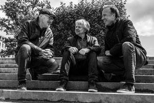 """Steven Houben, Jan de Haas et Diederik Wissels se produiront le 9 mai à 21h lors de la série """"Jazz im Foyer"""" au Jünglingshaus Eupen."""