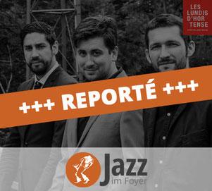 """Joachim Caffonnette trio se produira le 12 décembre à 21h lors de la série """"Jazz im Foyer"""" au Jünglingshaus Eupen."""
