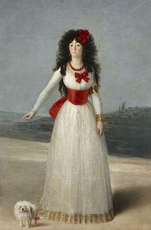 《マリア公爵夫人》1795年