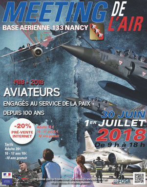 Meeting de l'Air BA-133 Nancy Ochey 2018