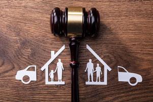 離婚、親権、家事事件、家族、遺産分与、