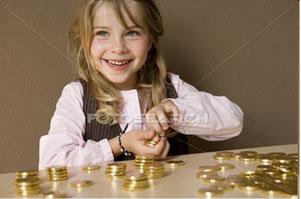 Des enfants reçoivent de l'argent en cadeau. Comment chacun d'eux va-t-il l'utiliser ?