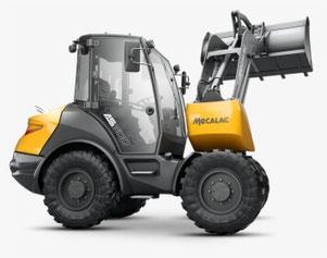 Mecalac As600 Wheel Loader