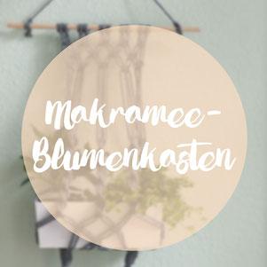 Makramee Blumenkasten DIY Anleitung omniview blog