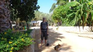 Sizilien mit Wohnmobil und Hund - Camping Sabbiadoro - Traveldog - fair4world
