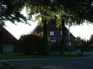 Der Hof Röpke (damals Bötjer), der wohl erste Hof in Melchiorshausen