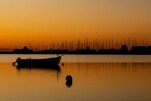 Sonnenuntergang Insel Fehmarn