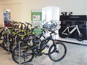 e-Bikes in der e-motion e-Bike Welt Frankfurt