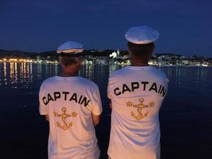 Unsere Skipper beweisen nicht nur an Bord Umsicht und Weitblick  ...