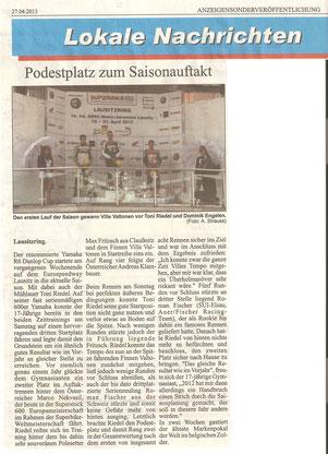 Lokale Nachrichten 29.04.2013