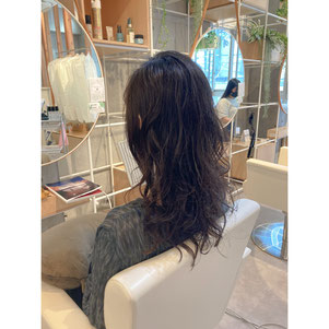 横浜 元町 石川町  髪質改善 ヘッドスパ 美容室 ロング パーマ 扱いしやすい