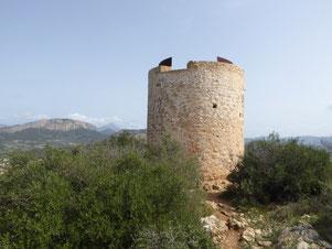 Peguera-Cap Andritxol wandeling hiking