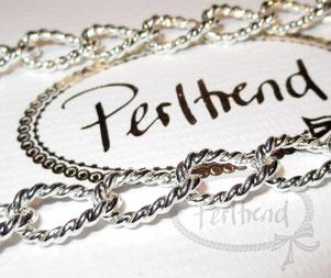 Halsketten Silberfarben