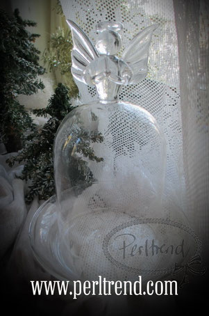 Home Schmuck Dekoration Glasglocke Style Weihnacht www.perltrend.com