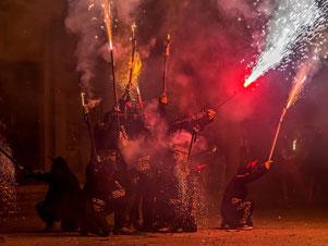 август Барселона праздники
