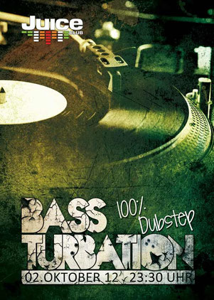 Bassturbation Dubstep Event Hamburg