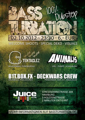 Bassturbation Dubstep Party Hamburg