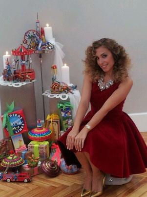 Gisela, juguetes, el Laberinto