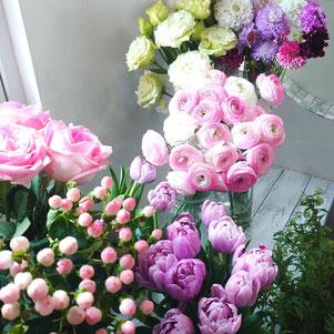 Lisの花工房,フレッシュフラワー教室,生花,お花くらぶ