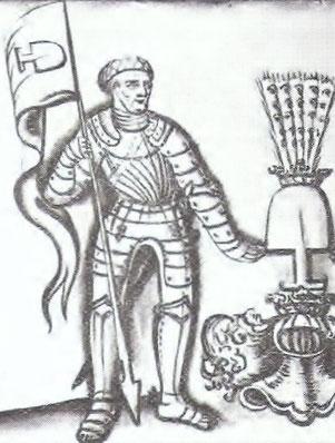 WOLFGANG VON GRABEN (1465-1521), BURGGRAF AUF SALDENHOFEN, HERR VON GRABEN, RADKERSBURG, MARBURG, KORNBERG ENZ - ANGENOMMENER STAMMHERR DER GRAEFFSCHEN FAMILIEN