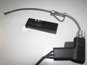 Messung der Schwärzungszahl mit dem Densitometer