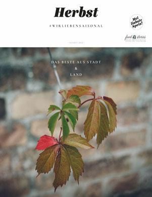 Herbst Ebook von @meiliabstespeis und @foodstories