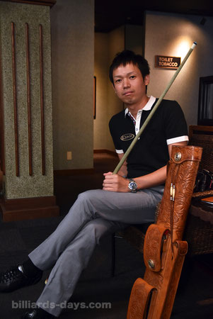 Yukio Akagariyama talks about his Kamui Tip.