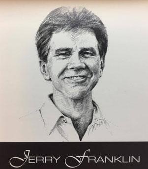 ジェリー・フランクリン。1995年のキューカレンダーから抜粋