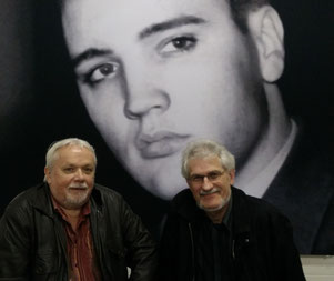 Fans Elvis in Bad Nuheim, Oskar und Michael, 09.01.2015