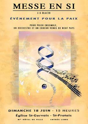 Konzertplakat der Aufführung in Paris 2006