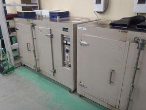 業務用の大型乾燥機1号&2号機