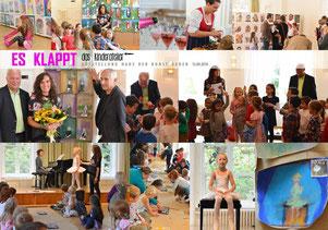 das war unsere 1.Kinderatelier-Ausstellung: im Haus der Kunst in Baden am 13.09.2014
