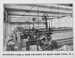 Sticksäle Fa. Blanck & Co. in New York