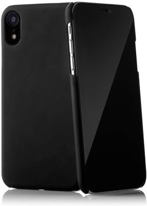 QUADOCTA Serici iPhone XR Hülle in Schwarz