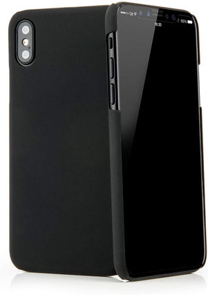 QUADOCTA Serici iPhone X/XS Hülle in Schwarz