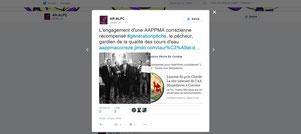 Twitter Association Régionale des Fédérations de Pêche