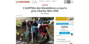 Site Internet La Montagne