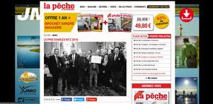 Site Internet La Pêche et les Poissons