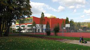 Hopf & Wirth Architekten ETH HTL SIA Winterthur, Erweiterung Turnhallen Berufsbildungsschule Winterthur BBW