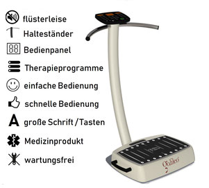 Vibrationsplatte Galileo Med 40 Plus, Test, Vertrieb, Preis, Kosten, Preise: www.kaiserpower.com