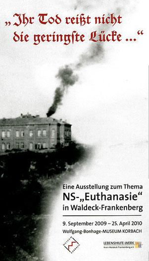 ------- Titelblatt des Textheftes zur Ausstellung -------