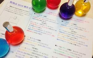 カラーハーモニー(補色)の読み方資料