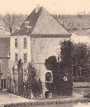 Le Donjon vers 1904