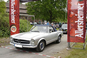 Mercedes 230 SL (Beispielbild)