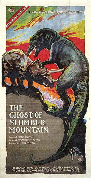 The Ghost of Slumber Mountain, 1918, Willis H. O'Brien, Etats-Unis.