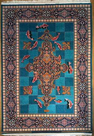 ESFAHAN  AHMADHOSEIN HAGHIGHI パルデサイズ約250x150