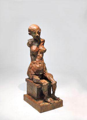 Figur 266A, Bronze, 2015, 29,5x10,5x13,5cm
