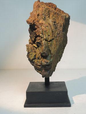 Kopf 264, Bronze, 2018, Höhe 30,5cm, 9 Exemplare