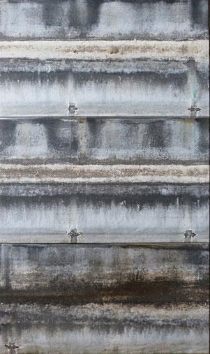 Sur le grand fleuve 75 x 127 cm